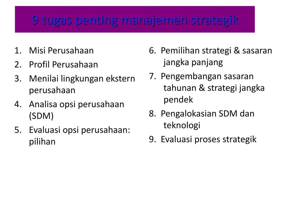 strategi akuisisi dan opsi nyata