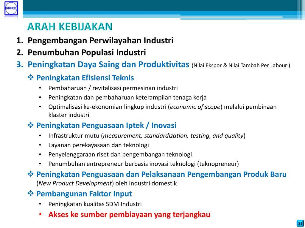 Pembiayaan Investasi Di Bidang Industri
