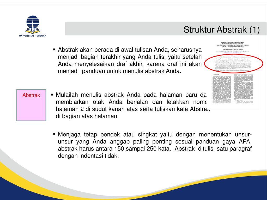 Komponen Komponen Karya Ilmiah Ppt Download