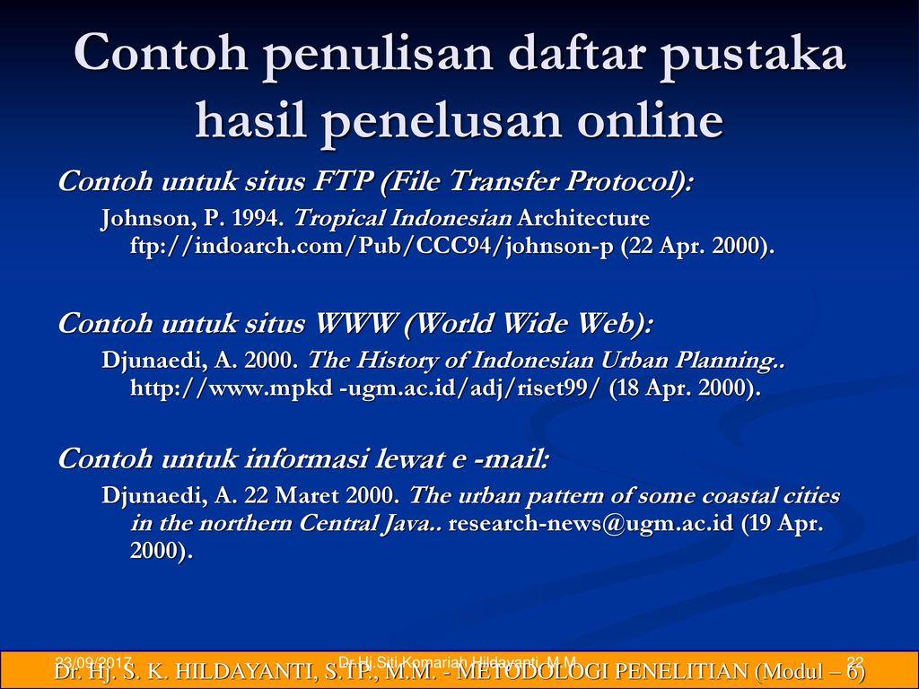 Tahapan Prosedur Penelitian Lanjutan Ppt Download