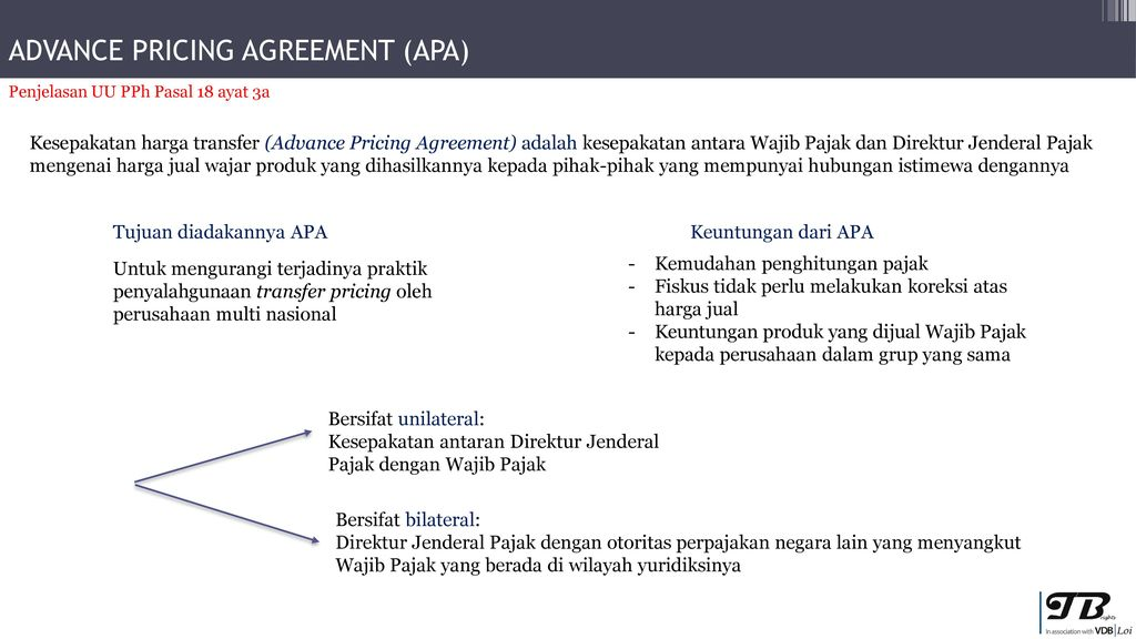 Advance Pricing Agreement Ppt Download