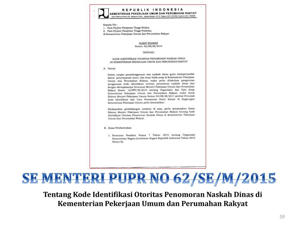 Kementerian Pekerjaan Umum Ppt Download