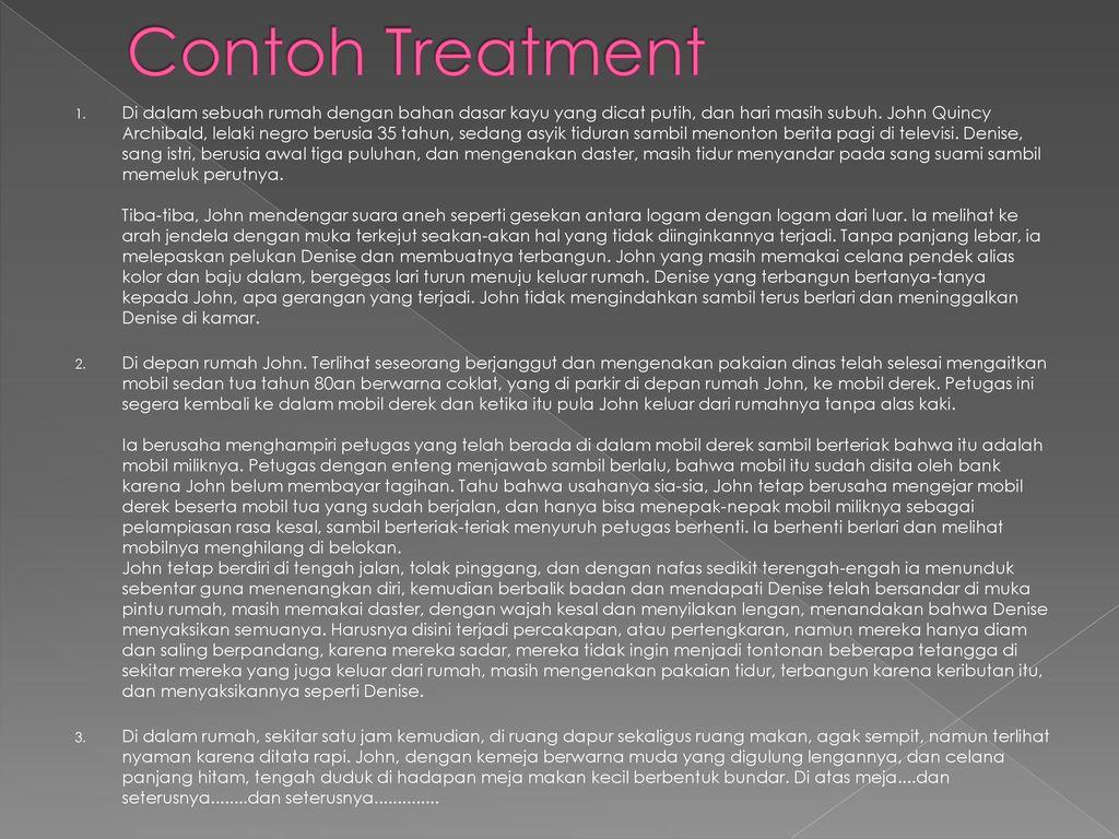 Treatment Naskah Film