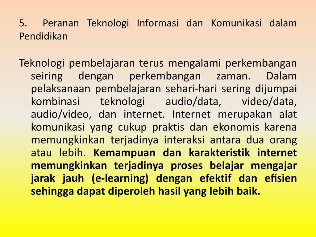 Peranan Teknologi Informasi Dan Komunikasi Dalam Kehidupan Sehari Hari Ppt Download