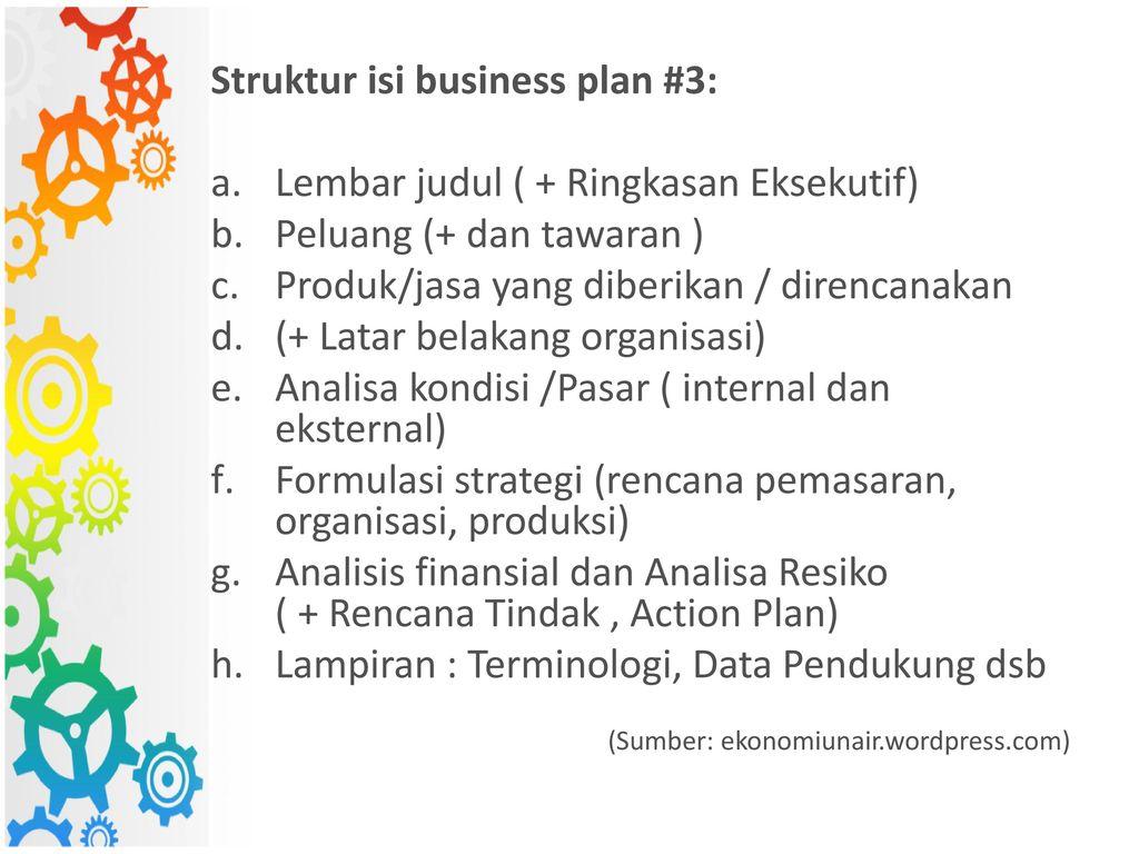 Pengantar Business Plan Ppt Download