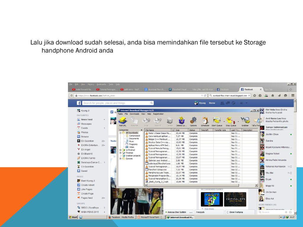 Instroduksi Pemrograman Android Ppt Download Software Pemograman Handphone 35 Lalu Jika Sudah Selesai Anda Bisa Memindahkan File Tersebut Ke Storage