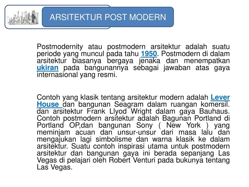 Yu Langgam Arsitektur Oleh Yunita Syafitri Rambe Ppt Download