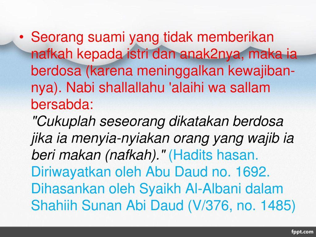 Fiqih Nafkah Dan Manajemen Keuangan Keluarga Ppt Download