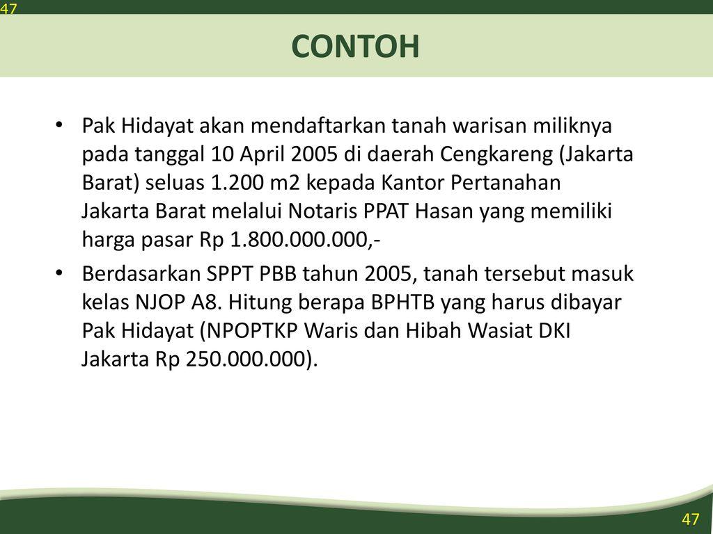 Pbb Bphtb Meterai Pajak Daerah Ppt Download