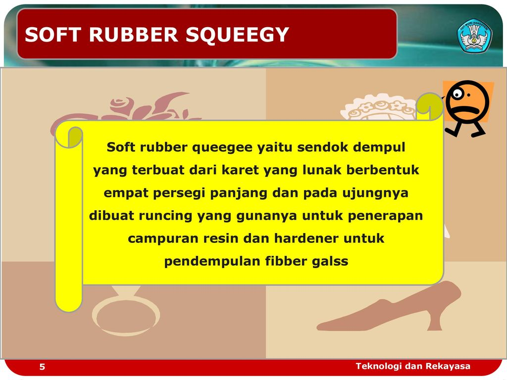SOFT RUBBER SQUEEGY