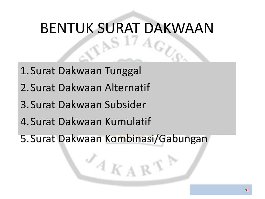 Universitas 17 Agustus 1945 Jakarta Ppt Download