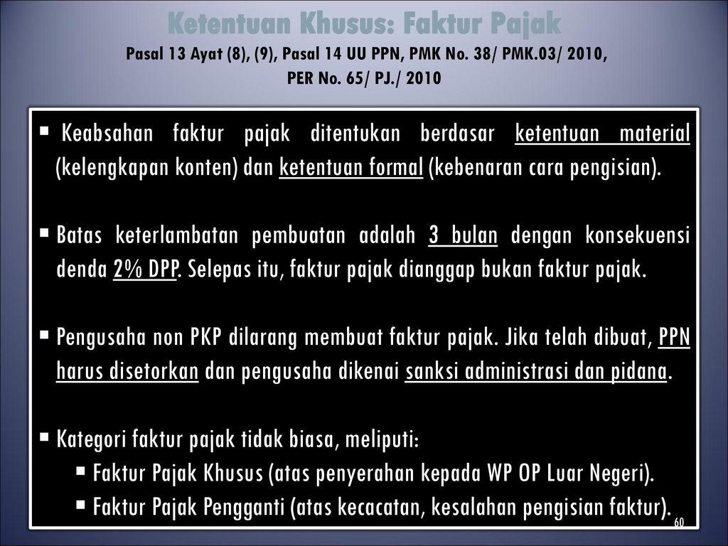 Pajak Pertambahan Nilai Ppn Ppt Download