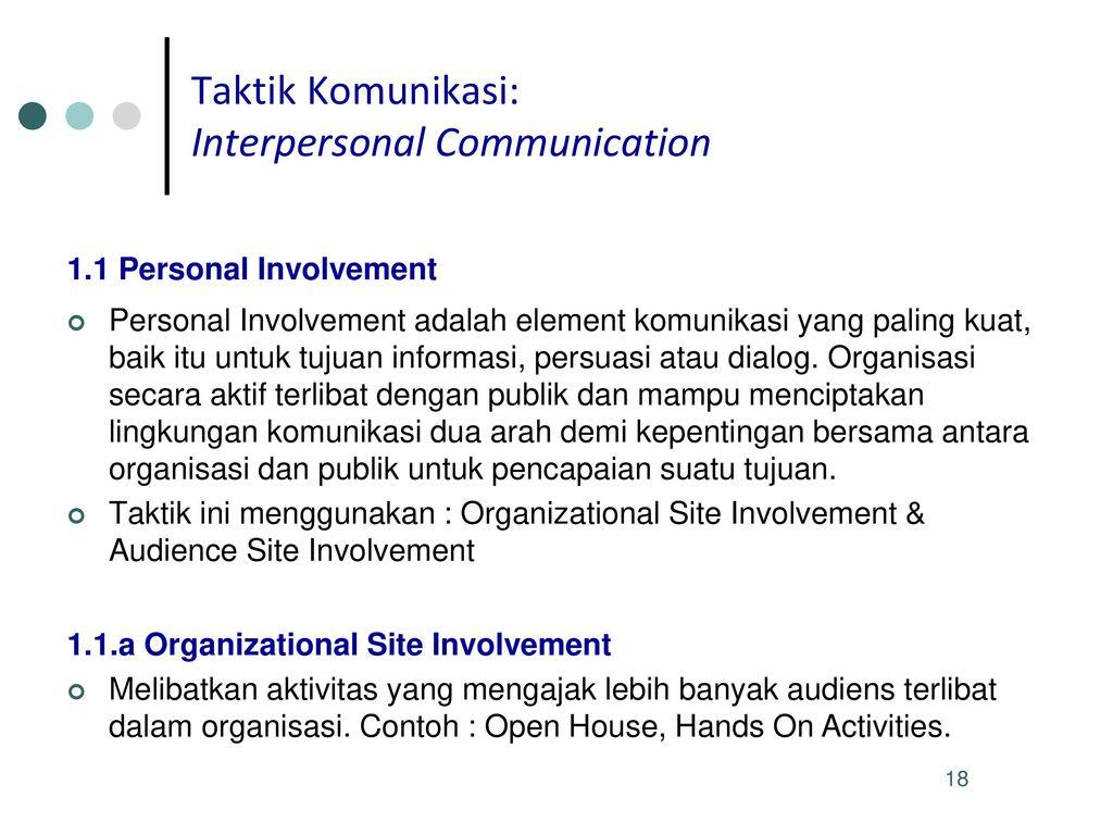 Pengembangan Pesan Taktik Komunikasi Untuk Program Kampanye Ppt