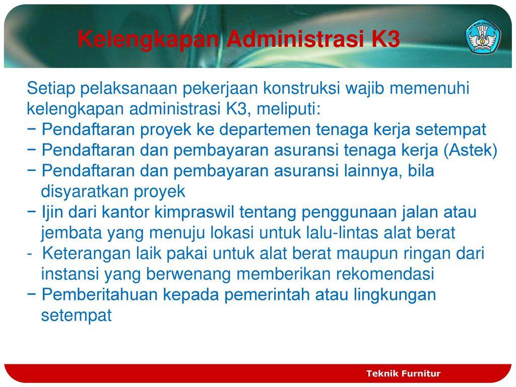 Menerapkan Keselamatan Dan Kesehatan Kerja K3 Ppt Download
