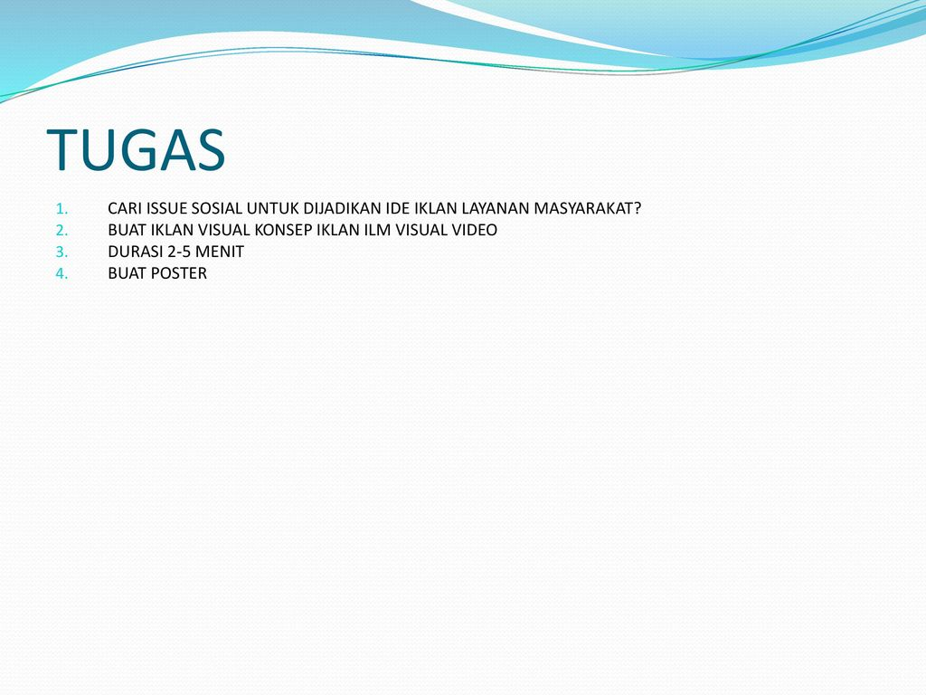 Iklan Layanan Masyarakat Ppt Download