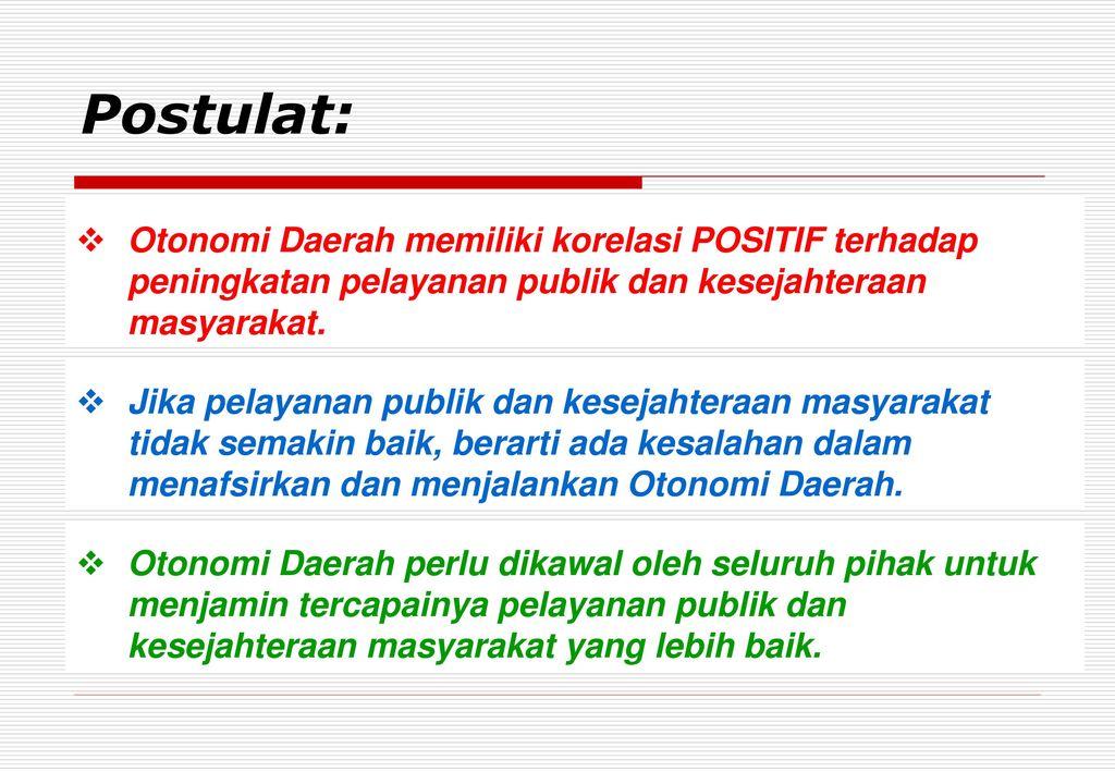 Masalah Masalah Otonomi Daerah Ppt Download