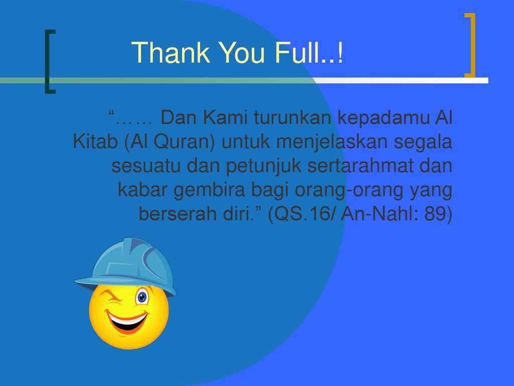 Thank You Full..!
