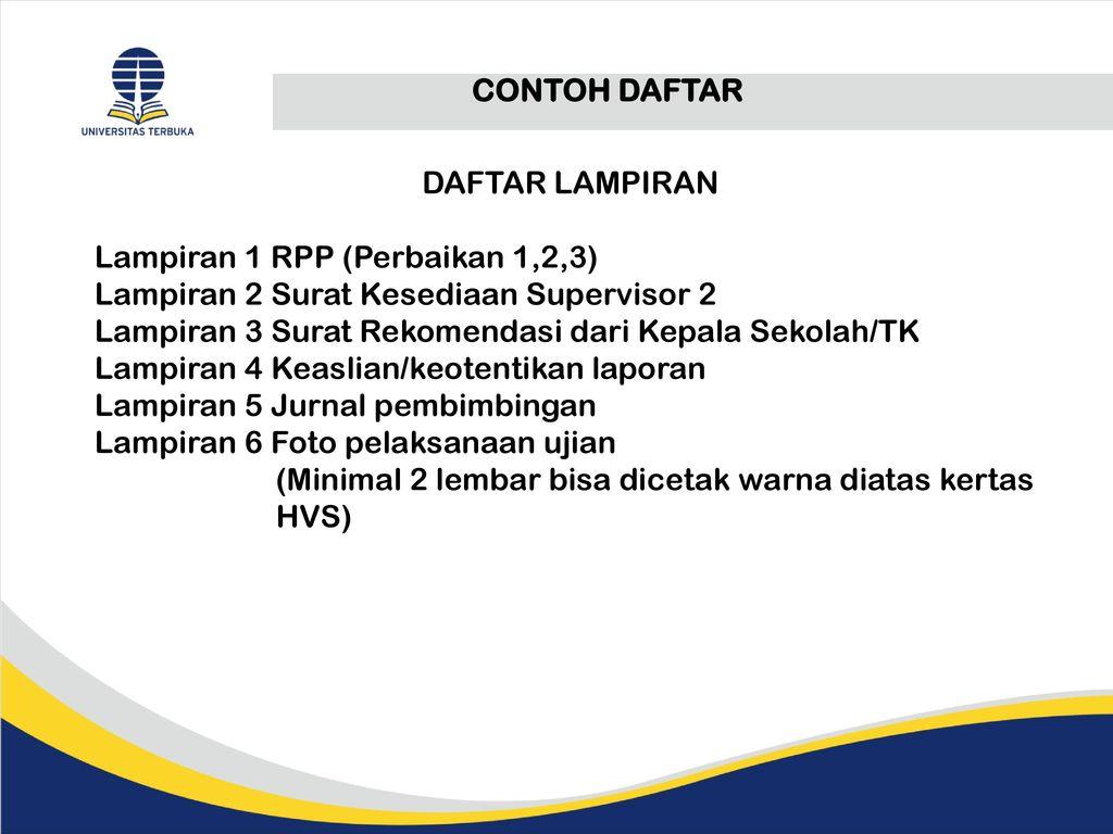 Tutor Pkp Pkm Supervisor 1 Teman Sejawat Supervisor 2 Ppt Download
