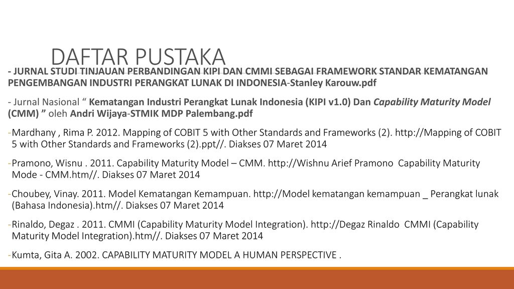 Capability Maturity Model - ppt download