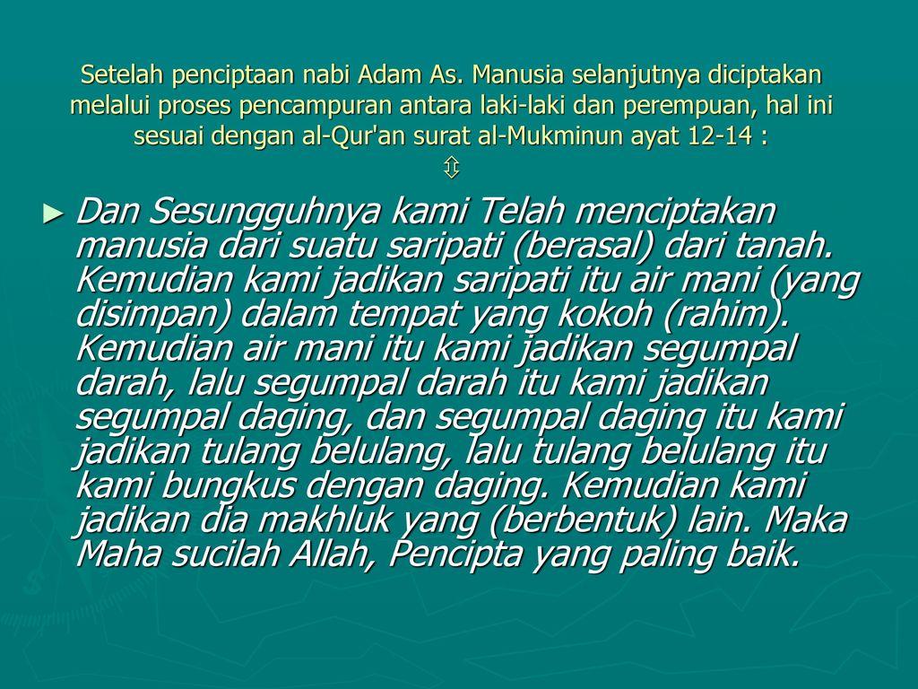 Hakikat Manusia Menurut Islam Ppt Download
