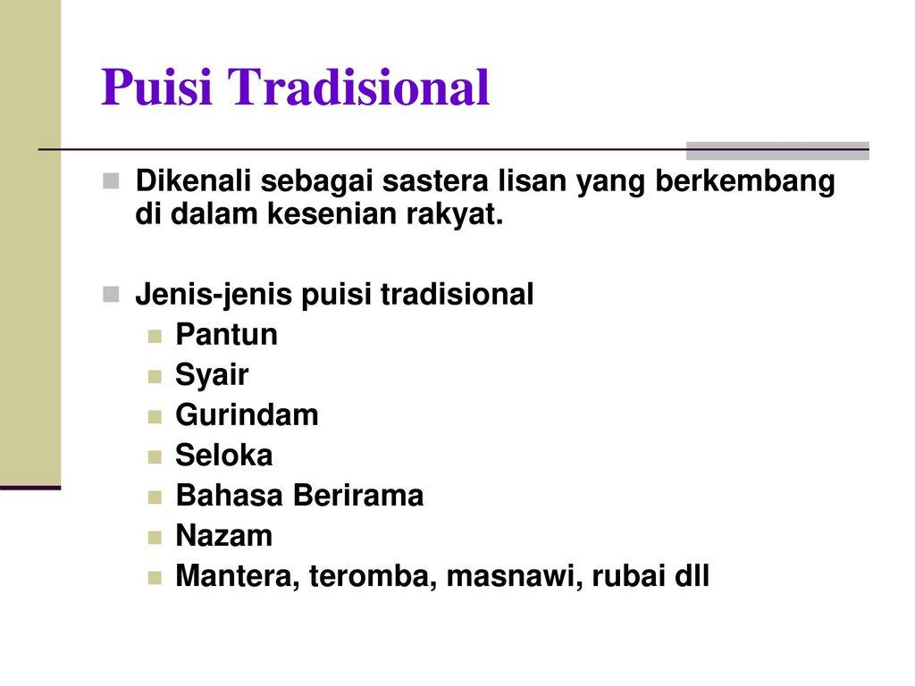 Program Penghayatan Sastera Dan Budaya Ppsb Ppt Download