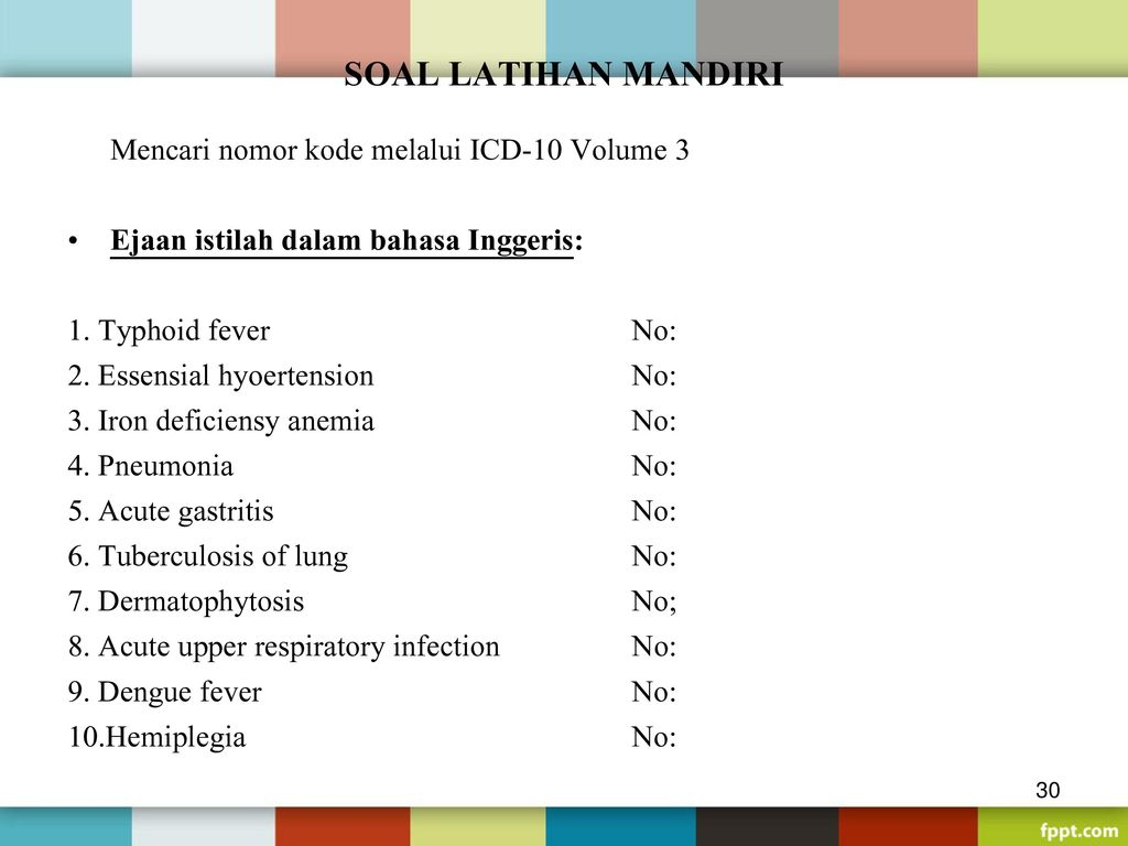 icd10 code for fever
