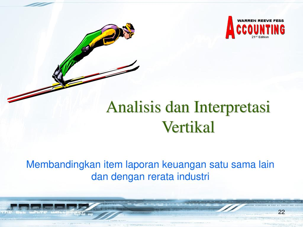 Analisis dan Interpretasi Vertikal