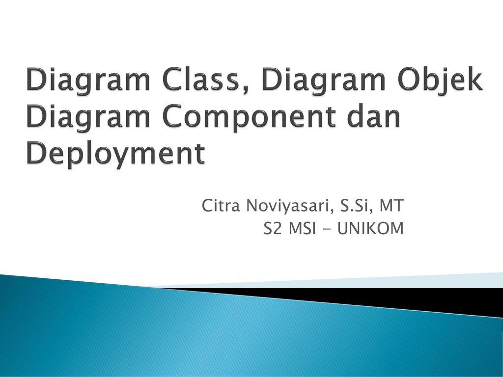 Diagram class diagram objek diagram component dan deployment ppt diagram class diagram objek diagram component dan deployment ccuart Choice Image