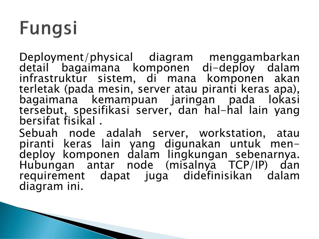 Diagram class diagram objek diagram component dan deployment ppt fungsi ccuart