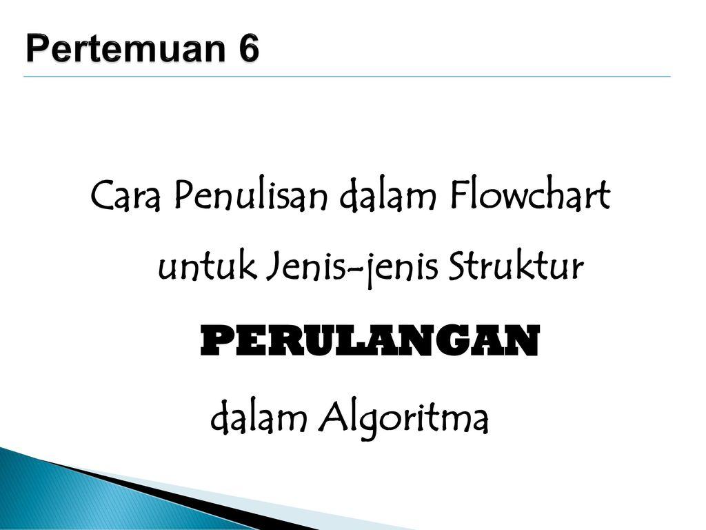 Cara+Penulisan+dalam+Flowchart+untuk+Jenis jenis+Struktur+PERULANGAN - Jenis Jenis Perulangan C
