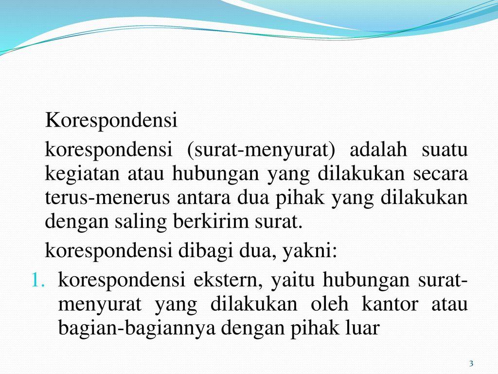 Bab Xii Surat Menyurat Indonesia Kompetensi Dasar