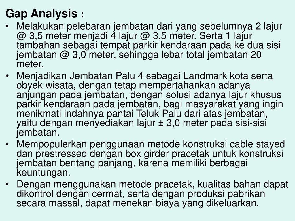Contoh Gap Analysis Yang Baik 1 Ppt Download