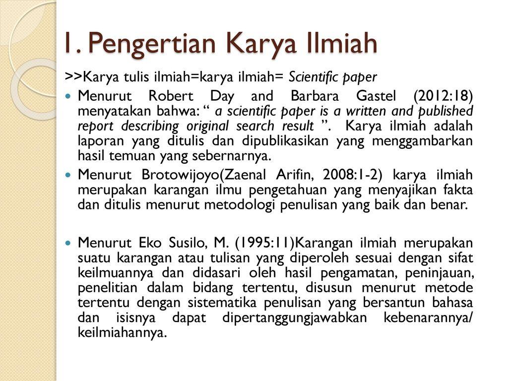 Tata Tulis Karya Ilmiah Tahun Akademik 2016 Ppt Download
