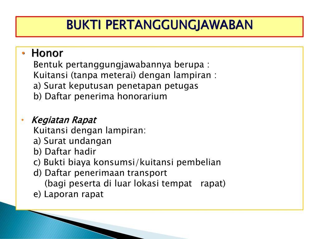 Workshop Penatausahaan Dana Ppt Download