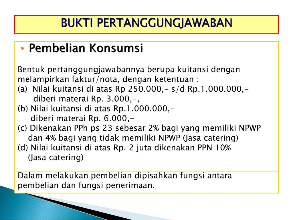 Workshop Penatausahaan Dana Ppt Download