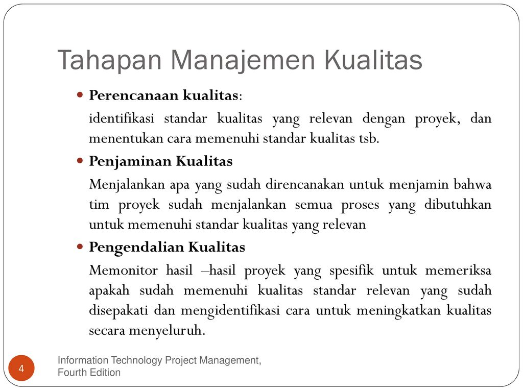 Manajemen mutu proyek konstruksi ppt
