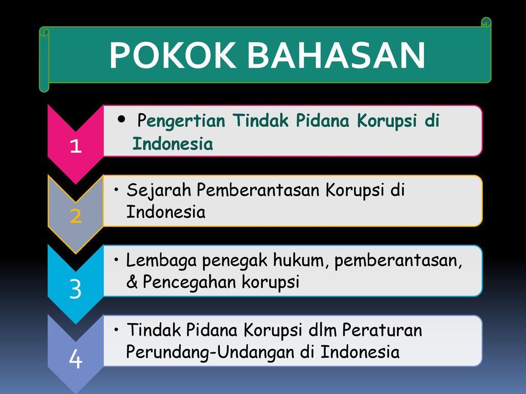 Tindak Pidana Korupsi Ppt Download