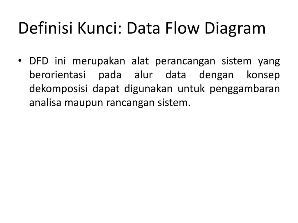 Data flow diagram dan data dictionary ppt download 6 definisi ccuart Images