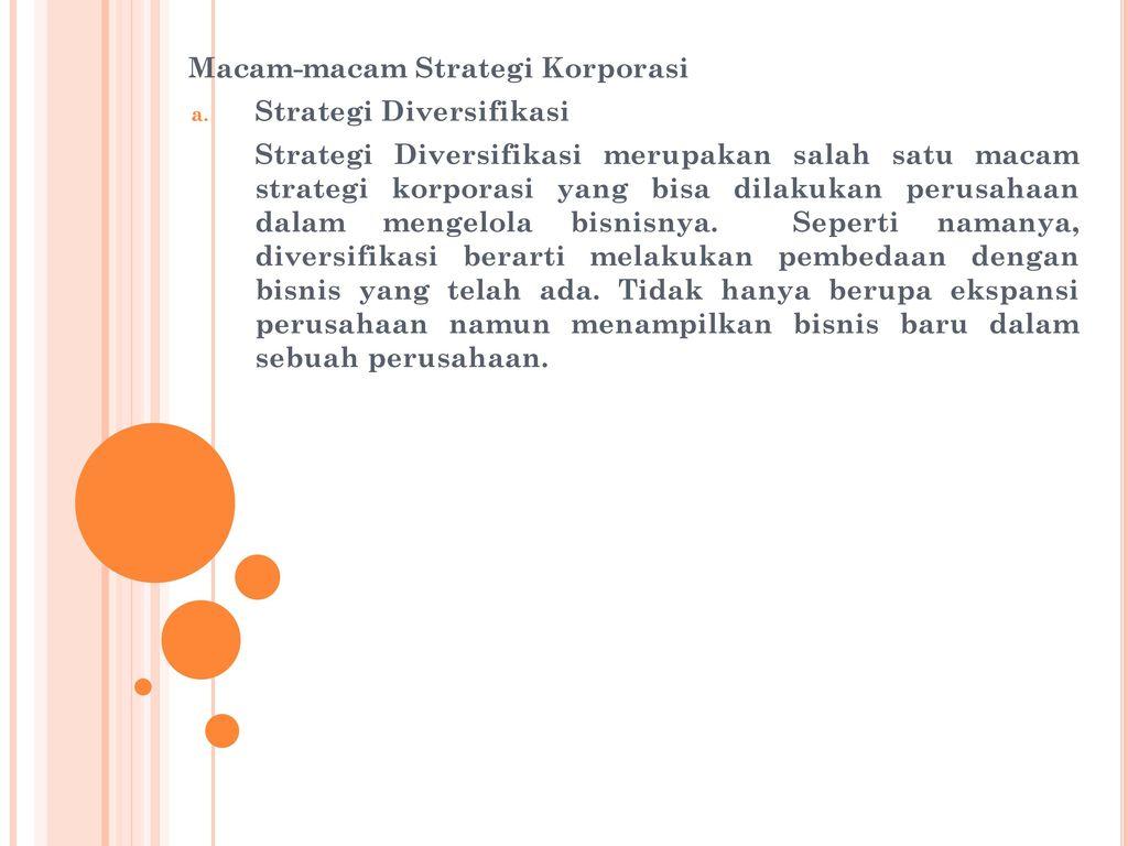 Strategi Diversifikasi Usaha Agar Tetap Menguntungkan