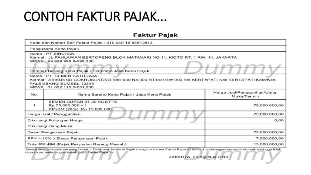 Ppn Dan Ppnbm Aris Munandar Se M Si Ppt Download