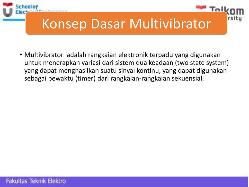 Bab 4 Multivibrator By M Ramdhani Ppt Download Astabil Konsep Dasar