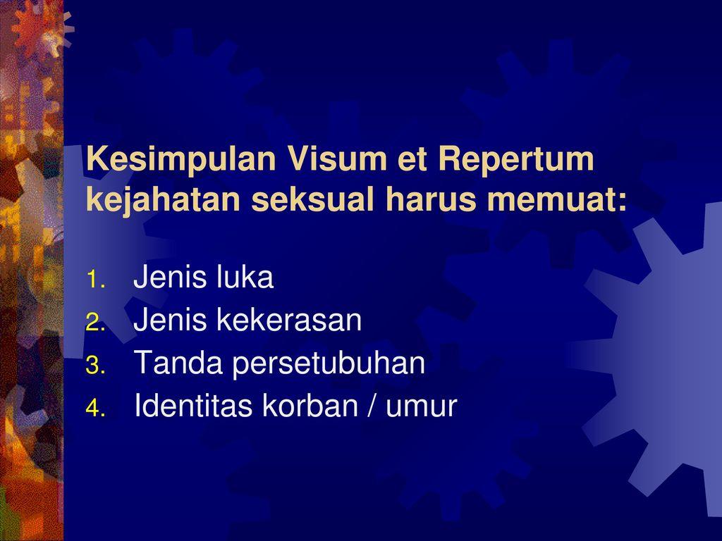 Visum Et Repertum Ppt Download