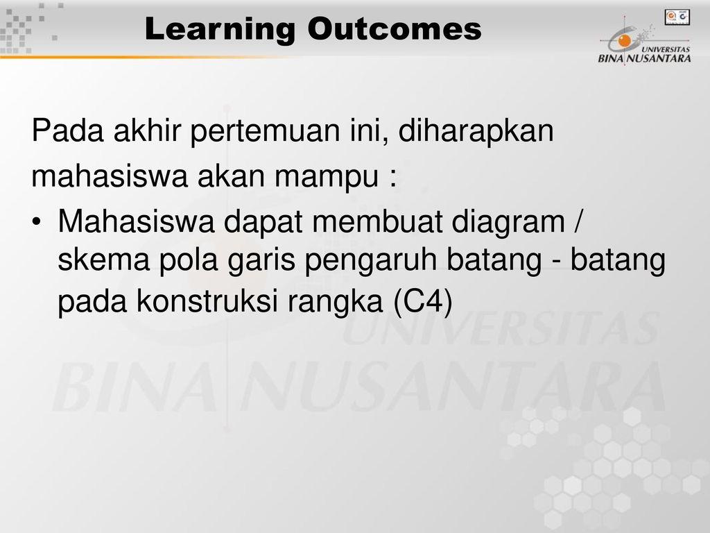 Pertemuan 23 sd 26 garis pengaruh rangka batang ppt download 2 learning ccuart Images