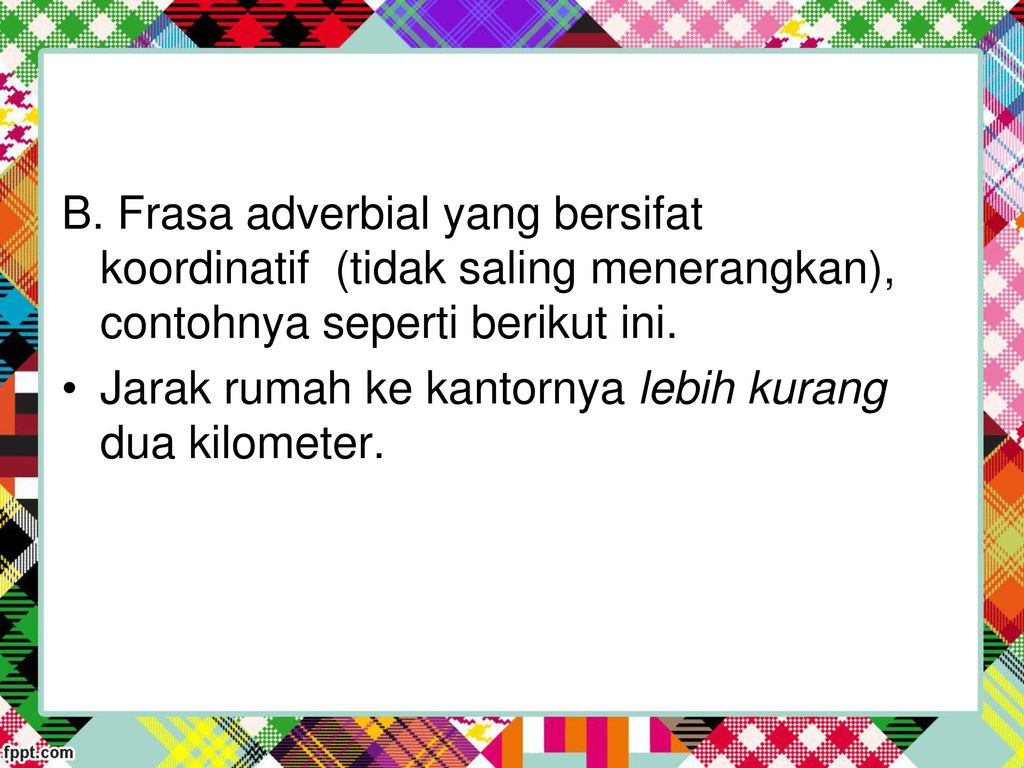 Sintaksis Latifah Ppt Download