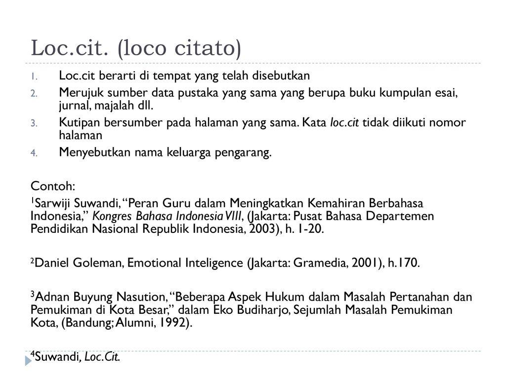 Kutipan Catatan Kaki Dan Bibliografi Ppt Download