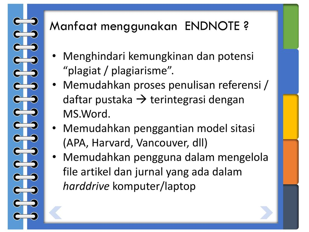 X7 Training Endnote Organize Your Research With Endnote Ppt Download