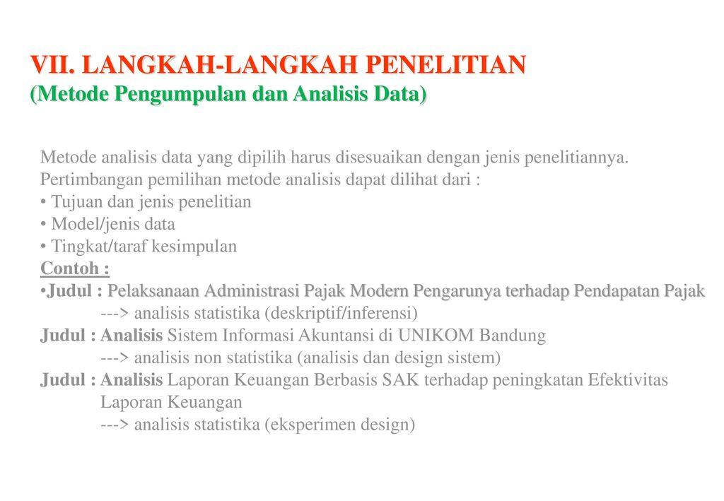 Penelitian Metode Pengumpulan Dan Analisis Ppt Download