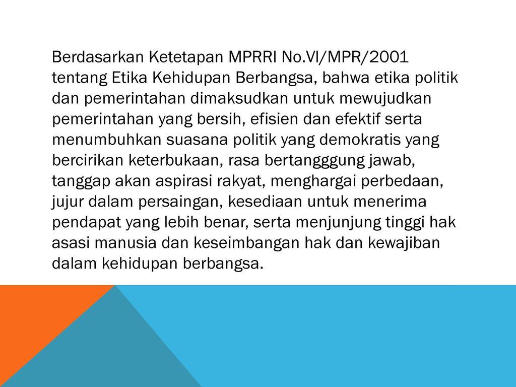 Pancasila Sebagai Etika Politik Ppt Download
