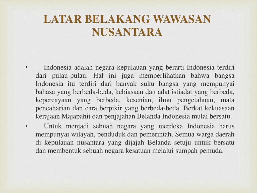 Wawasan Nusantara Ppt Download