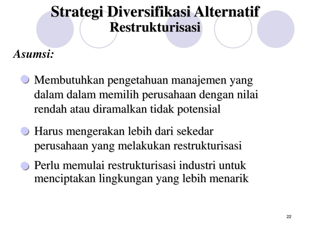 Sesi 4 Strategi Diversifikasi - ppt download